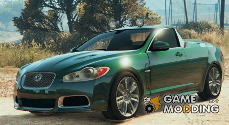 2010 Jaguar XFR Ute Pickup v1.1 for GTA 5