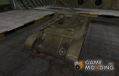 Зоны пробития контурные для M7 for World of Tanks