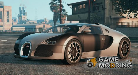 Bugatti Veyron ( Automatic Spoiler ) for GTA 5