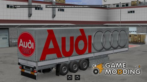 Trailer Pack Car Brands v4.0 for Euro Truck Simulator 2