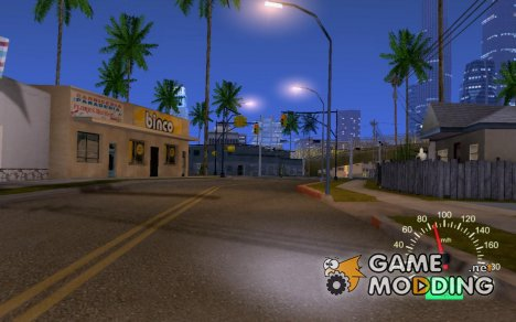 Десятошный спидометр for GTA San Andreas