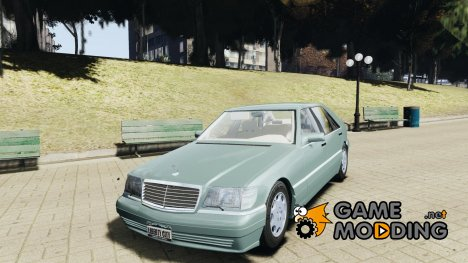 Mercedes Benz SL600 W140 1998 higher Performance for GTA 4