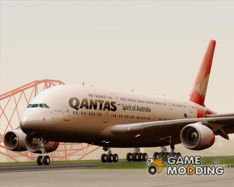 Airbus A380-841 Qantas for GTA San Andreas
