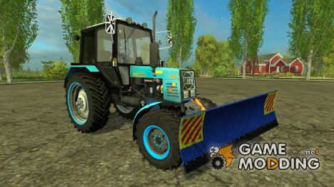 МТЗ 952 Belarus + Отвал v1.0 for Farming Simulator 2015