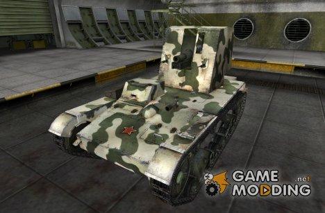 Шкурка и ремодель для СУ-26 для World of Tanks