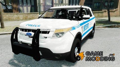 Ford Explorer NYPD ESU 2013 для GTA 4