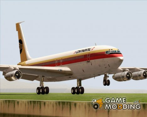 Boeing 707-300 Continental Airlines for GTA San Andreas