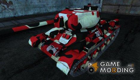 Шкурка для Т-34-85 for World of Tanks