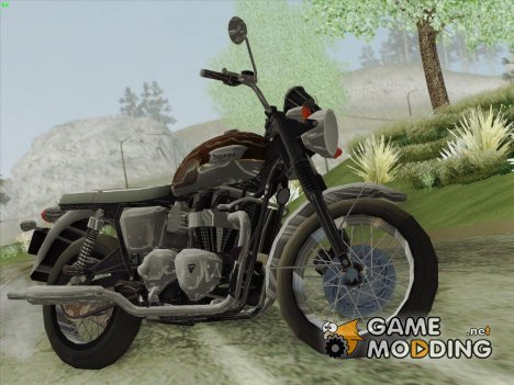 Motorcycle Triumph from Metal Gear Solid V The Phantom Pain для GTA San Andreas