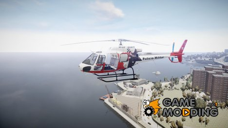 Eurocopter AS350 Ecureuil Aguia 11 PMESP для GTA 4