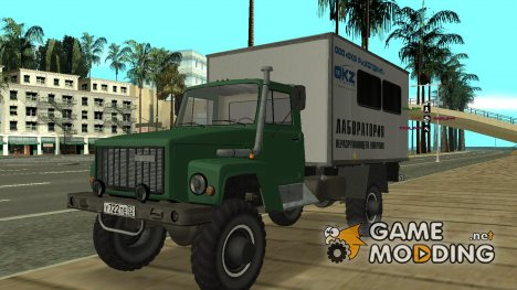 Автолаборатория ГАЗ 3308 Садко for GTA San Andreas