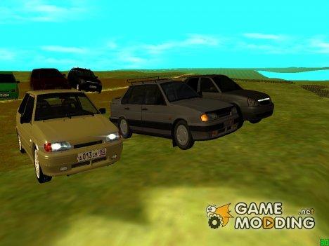 Мой пак машин для GTA San Andreas