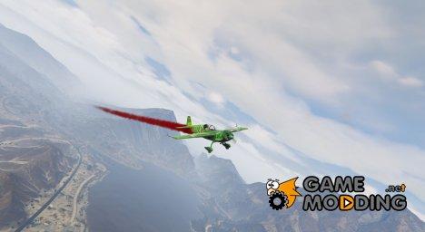 Дым на самолётах v1.2 для GTA 5