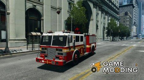 NEW Fire Truck для GTA 4