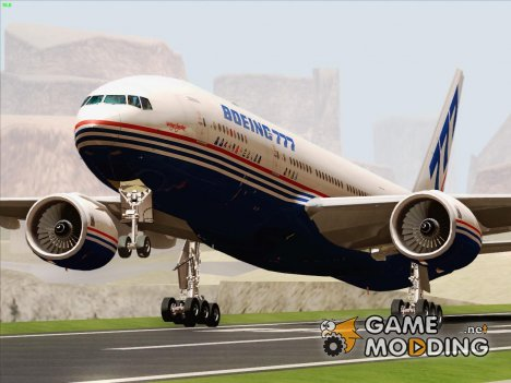 Boeing 777-200ER Boeing House Colors (Demonstrator 777) N7771 для GTA San Andreas