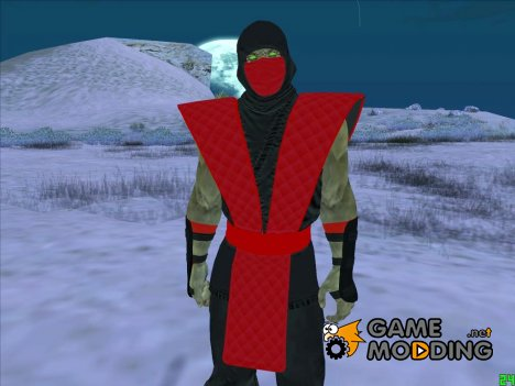Ermac Mortal Kombat for GTA San Andreas