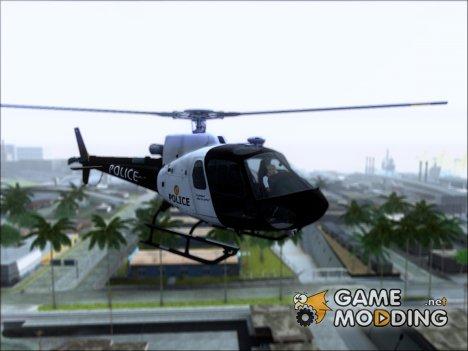 Полицейский Маверик из ГТА 5 для GTA San Andreas
