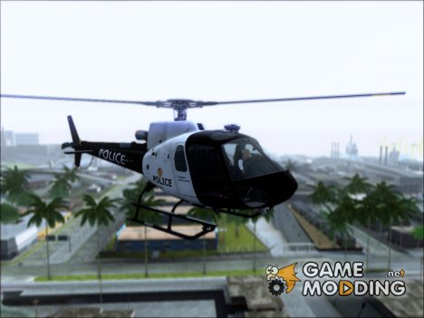Полицейский Маверик из ГТА 5 for GTA San Andreas