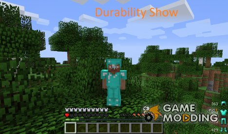 Durability Show for Minecraft