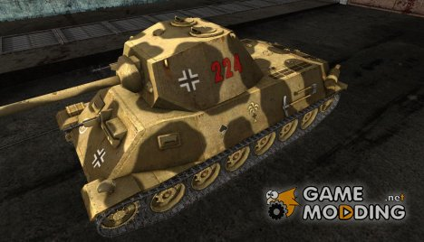 Шкурка для T-25 for World of Tanks