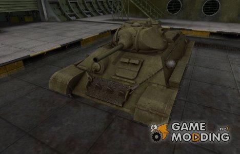 Шкурка для T-34 в расскраске 4БО for World of Tanks