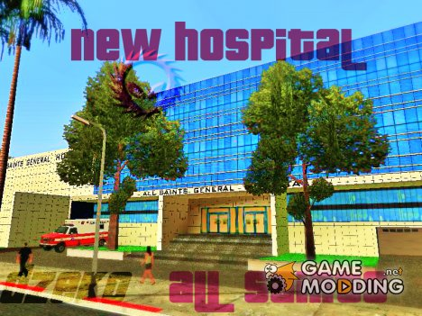 New General Hospital All Saints for GTA San Andreas