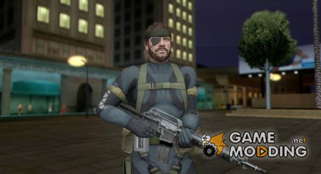 Metal Gear 5 Big Boss для GTA San Andreas