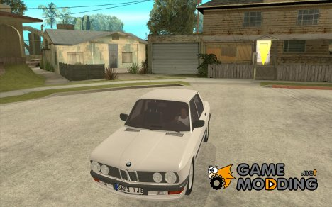 BMW E28 525e ShadowLine Stock for GTA San Andreas