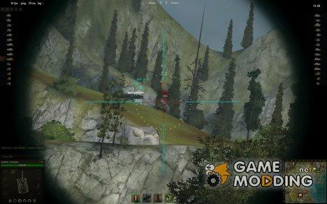 Снайперский прицел от 7serafim7 for World of Tanks