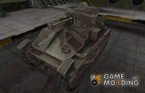Пустынный скин для Vickers Medium Mk. II for World of Tanks