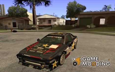 Toyota AE86wrt Rockstar for GTA San Andreas