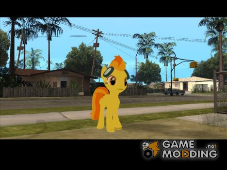 Spitfire (My Little Pony) for GTA San Andreas
