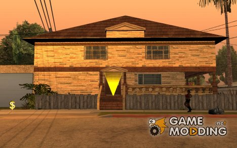 New house for CJ for GTA San Andreas