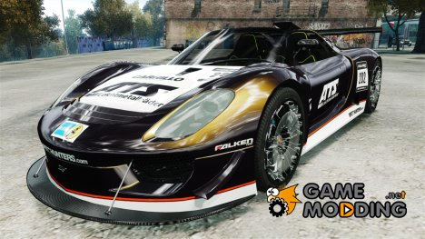Porsche 918 Spider Body Kit Final (NFS SHIFT 2) для GTA 4