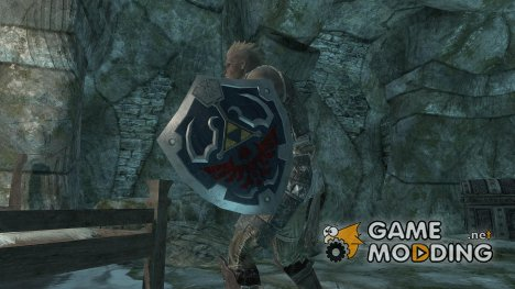 The Legend of Zelda - Hylian Shield для TES V Skyrim