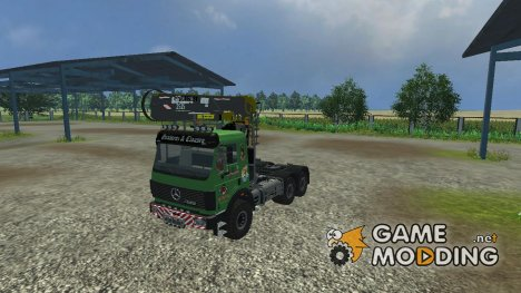 Mercedes-Benz SK 2653 timber loader v 2.0 for Farming Simulator 2013