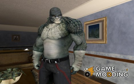 Killer Croc from Batman Arkham Origins для GTA San Andreas
