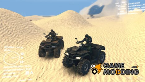 Квадроцикл Quad polaris 4x4 для Spintires DEMO 2013