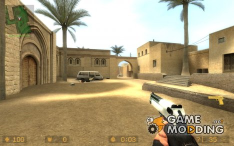 Desert Eagle Skin для Counter-Strike Source
