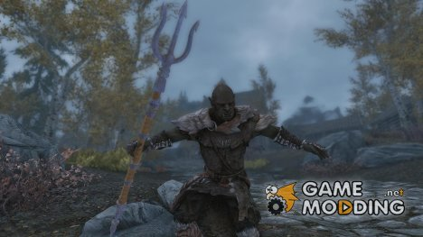 In Se Okaaz - Trident Staff for TES V Skyrim