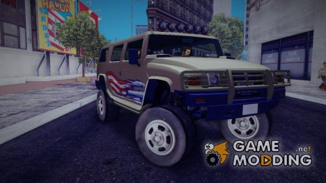 GTA 4 Patriot for GTA 3