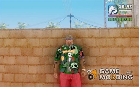 Хэллоуинская футболка для GTA San Andreas