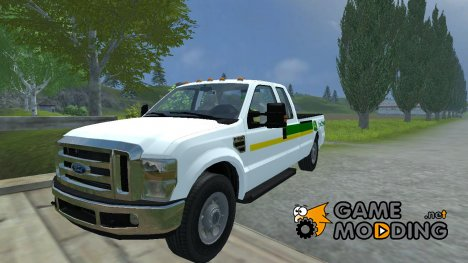 Ford F350 John Deere for Farming Simulator 2013