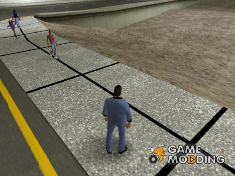 Fen's HD Road Mod для GTA Vice City