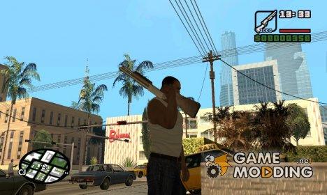 Новые анимации for GTA San Andreas