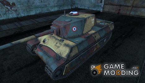 Шкурка для AMX M4 (1945) для World of Tanks
