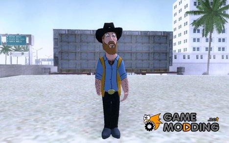 ChuckNorris [Family Guy] для GTA San Andreas