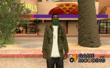 Новый гангстер в составе Grove v2 for GTA San Andreas