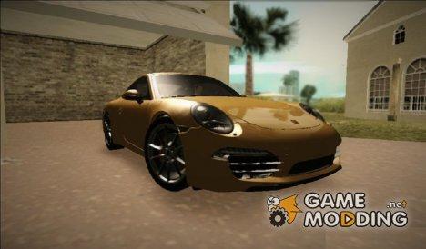 Porsche 911 (991) Carrera S для GTA Vice City