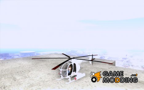 AH-6C Little Bird для GTA San Andreas